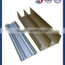 Anodized Aluminum Railings of door mullions