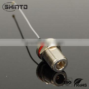 RF CABLE ASSEMBLY N bulkhead female straight connector to MHF for 1.13 cable L=150mm