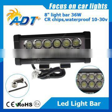 36W Led Spot Work Driving Light Bar Offroad Car Jeep 4WD Truck Atv Lamp