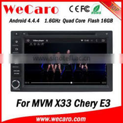 Wecaro WC-MC7230 Android 4.4.4 car gps system HD for MVM X33 navigation USB SD