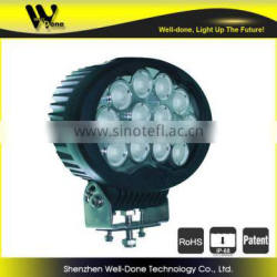 120W Oval Truck LED WORK LIGHT, CE RoHS certificated Farming led light, Heavy duty led light