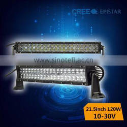 Amazing price!!120w spt flood combo 4d led light bar for off road
