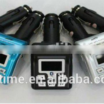 High quality car radio mp3 fm transmitter with bluetooth.