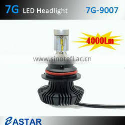 9007 headlight light guide head lamp with excellent lighting pattern and medical head lamp