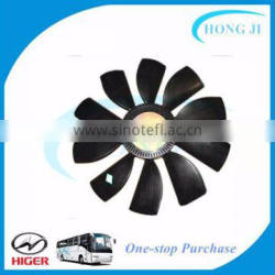 Higer bus spare parts air conditioning parts cooling fan