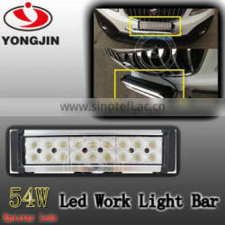 New 54w offroad led working light bar for offroad 4x4 accessories
