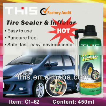 ISO9001 Super Tire Sealant With Air Compressor Wholesale