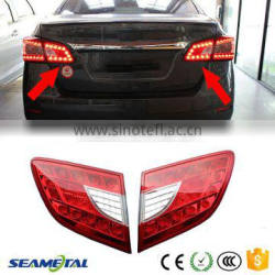 Car Rear Light ABS Brake Lights Rear Trunk Lamp LED Inside Taillight Assembly For Nissan Sentra 2014 2015 2016 Quality Choice