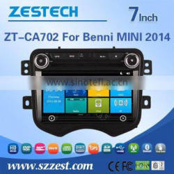 ZESTECH 7 inch 2 din car dvd gps for BENNI MINI 2014 with GPS NAVIGATION+FULL MULTIMEDIA SYSTEM car accessories
