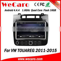 Wecaro WC-VT8009 Android 4.4.4 car dvd player quad core car radio for volkswagen touareg stereo tv tuner 2011-2015