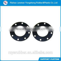 different material different sizes round flat rubber gasket