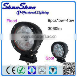 High Lumens Auto 45w Led Working Light for truck trailer