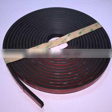 Wholesales With 3M Glue Best Self Adhesive Pure Butyl Car Door Seal Strip