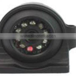 "C-C388, 1/4"" SHARP CCD Car reversing camera 420TVL Heavy Duty back up w/9pcs IR, IP68 Side view with metal cover"