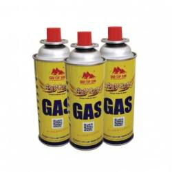BBQ Fuel Cartridge Butane gas cartridge cans with camping fuel gas cans