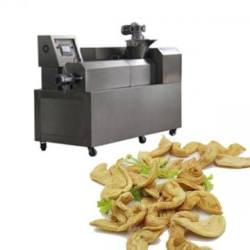Tissue extruded textured soy protein machine /processing line