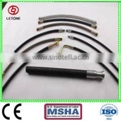 Top quality wire spiral hydraulic hoses assembly