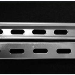 ASTM A572 Gr60 Gr50 A36 Galvanized Slotted Ms Angle Beam Perforated L Shaped Steel Beam