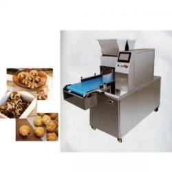 Hot Sale double line two color filling sandwiching biscuit machine