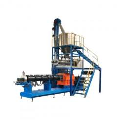 Colorful Treat Chew pet food production line fish feed extruder machine