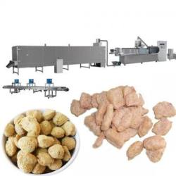 Screw extruder textured soya protein forming machine /soy meat processing machine/soya nuggets