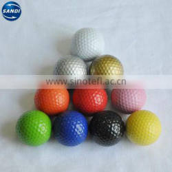 hot sale customized PMS color glow golf ball