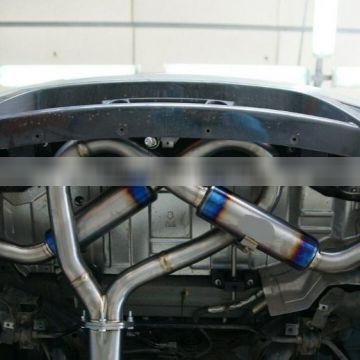 304 stainless steel GT-R catback exhaust catback for nissan GT-R