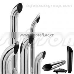 Exhaust curved stacks, lorry pipe, glasspack muffler, bending pipe, exhaust donuts