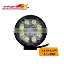 Hot sale led work light 27W 4. inch for motocycle ,with 2 year warranty