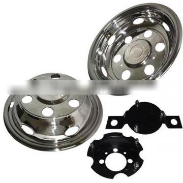 truck body parts 16'' stainless steel bus wheel cover