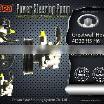 Wholesale Power Steering Pump for Greatwall Hover 4D20 H5 H6 OEM 3407100-K84