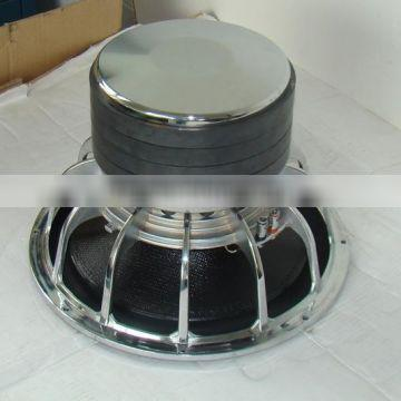 Big motor 15 inch car subwoofer with 4 magnets