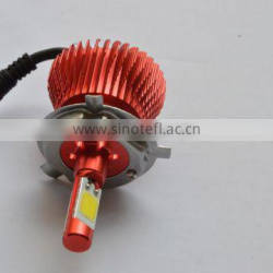 2016 small size Five optional colors DIY 6th Gerneration 6s H4 28W CREEs Fanless 3000 Lumen car led headlight