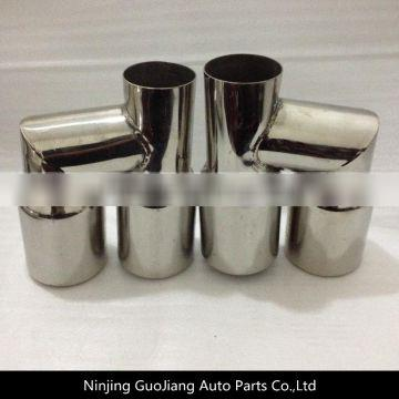 Exhaust dual tail pipe/Exhaust muffler tip/Dual muffer end pipe