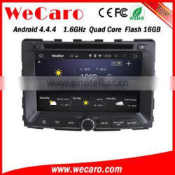 Wecaro WC-SY7070 Android 4.4.4 car dvd player touch screen car radio gps for ssangyong rodius navigation mirror link 2014 2015