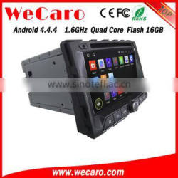 Wecaro WC-SY7070 Android 4.4.4 car dvd player quad core for ssangyong rexton car radio stereo tv tuner 2014 2015