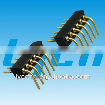 1.27mm Male Pin Connector right angle type
