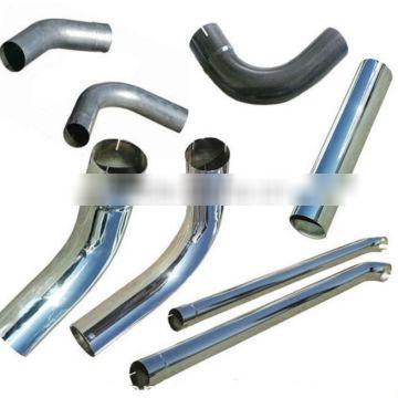 polished tips auman china truck mandrel bend middle pipe polished tips/High Quality Stainless steel exhaust bends/Steel bends