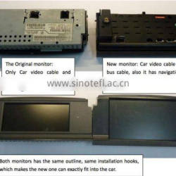 6.5 inch Video interface with dvd player