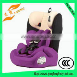 Gold supplier forward facing baby car seat with isofix