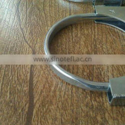low price Flexible exhaust pipe clamps /stainless steel pipe clamps/exhaust tips clamps