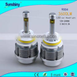 Good supplier ent headlight bulbs 30w 3600lm 9004 9007 headlight bulb socket