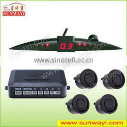 Sound switch parking sensor with led display