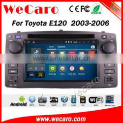 Wecaro WC-BD6205 android 5.1.1 car stereo navigation for toyota corolla e120 2003-2006 car dvd gps WIFI 3G Playstore