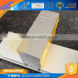 Hot! FOB window aluminum extrusion aluminum profiles factory gold sliver matte anodic oxidation aluminum profile