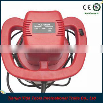 Red Car Polishing Machine