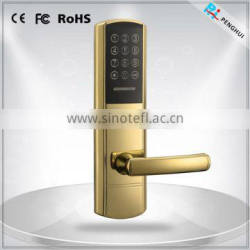 Waterproof Touch Screen Digital Electronic Password Door Locks with hotel key card system