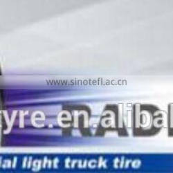 185R14C Linglong light truck tire radial 666