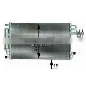 Auto Condenser 97606-2E000 for HYUNDAI TUCSON 2006 Year