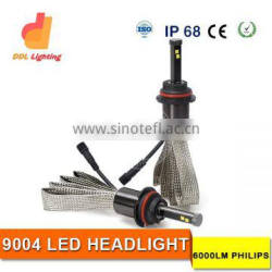 Wholesale 9004 led car headlight kit 48W 6000LM auto headlight H4 H11 H1 H7